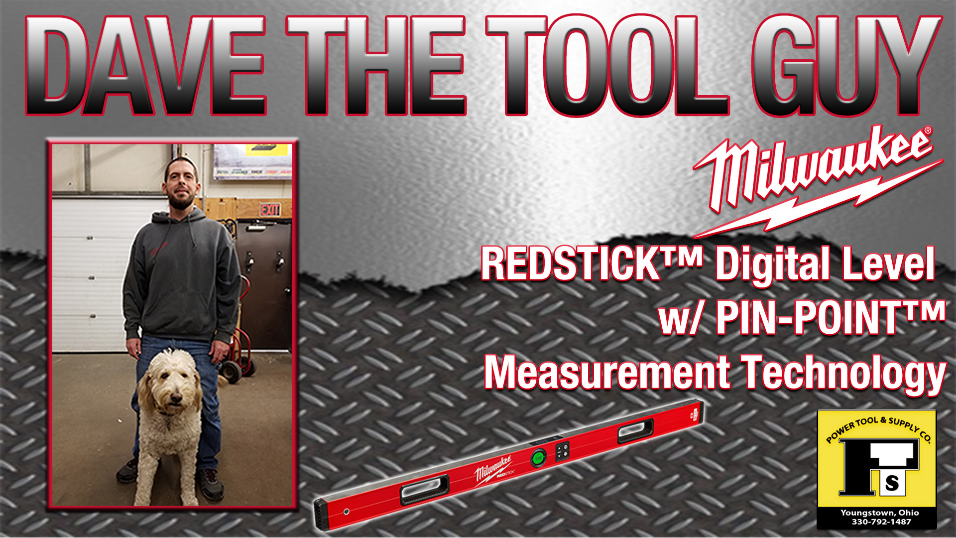 Dave The Tool Guy – Milwaukee 48″ REDSTICK™ Digital Pinpoint Level