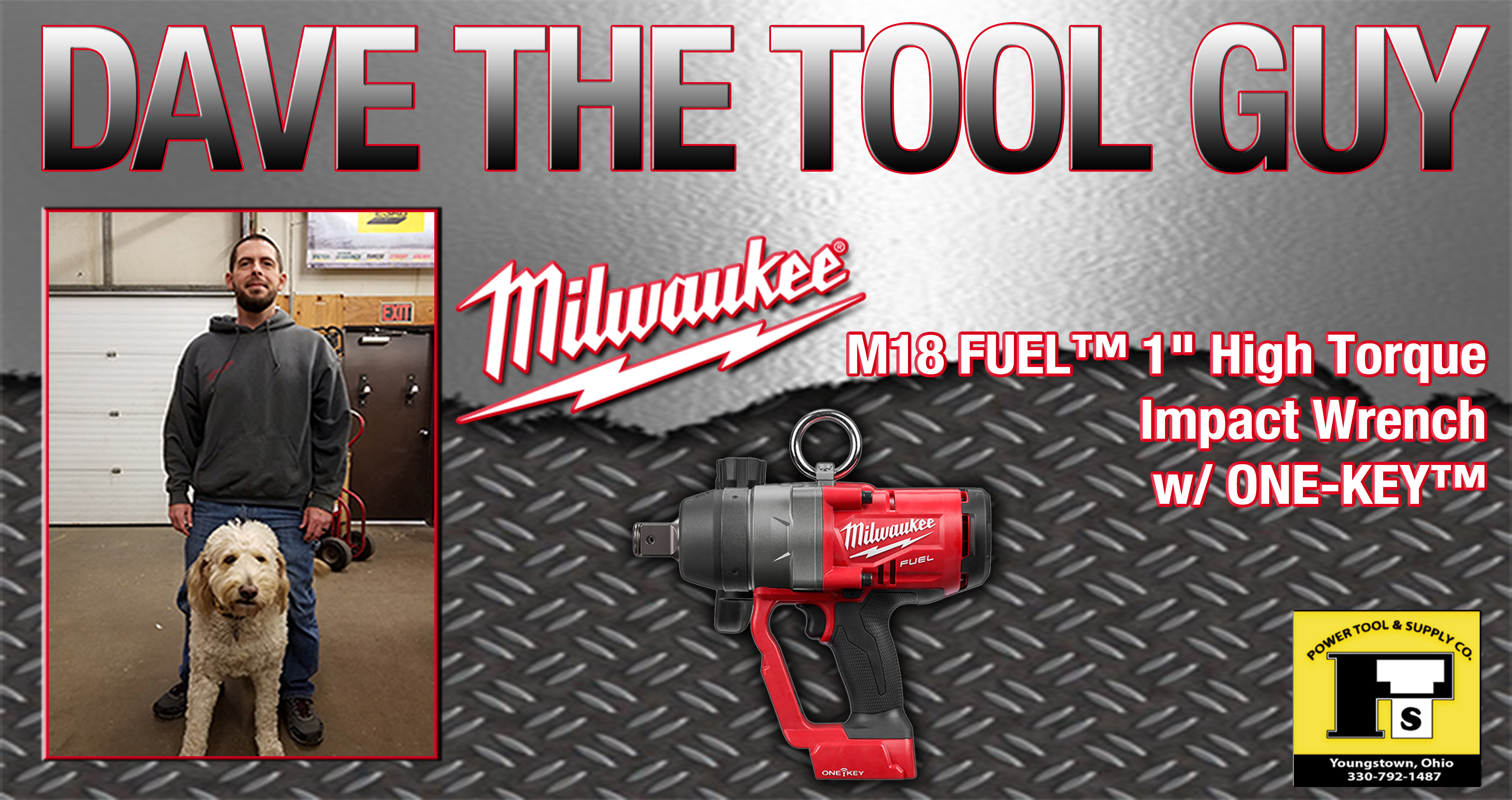 Dave The Tool Guy – M18 FUEL™ 1″ High Torque Impact Wrench w/ ONE KEY™