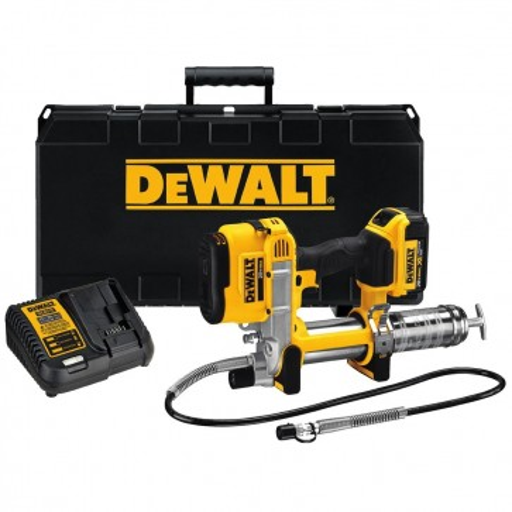 DeWalt 20V MAX Cordless Lithium-Ion Grease Gun Kit
