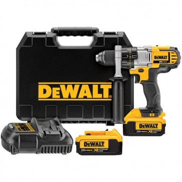 DeWalt 20V MAX Cordless Lithium-Ion 1/2 in. Premium 3-Speed Drill Driver Kit with 4.0 Ah Batteries