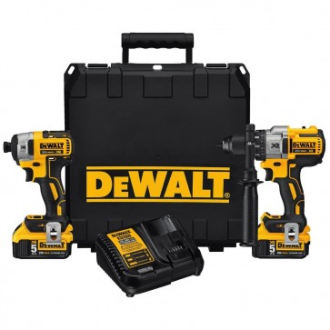 DeWalt 20V MAX XR Cordless Lithium-Ion Hammer Drill & Impact Driver Combo Kit