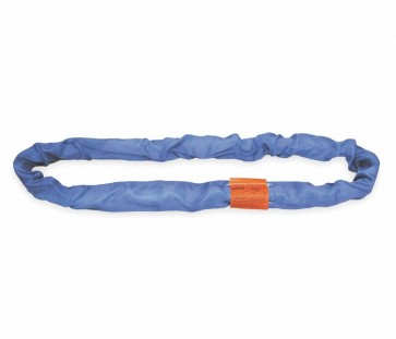 """Lift All 20 ft. Endless - Type 5 Round Sling, 1-3/4"""" Diameter, Color Code: Blue, Polyester"""