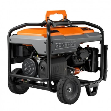 Generac- 6500W Electric Start Portable Generator, CSA Compliant