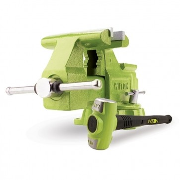 """B.A.S.H. 6.5"""" Utility Vise and 4 lb. Hammer Combo"""