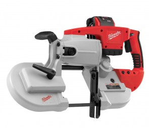 Milwaukee Cordless Band Saw Kit — 28 Volt