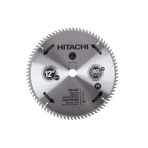 Hitachi 2-Pack 12-in Miter Saw Blade Set