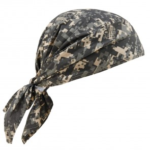 Ergodyne Chill-Its® 6710 Evaporative Cooling Triangle Hat: Camo