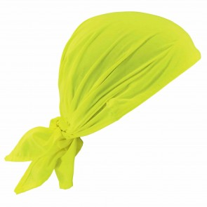 Ergodyne Chill-Its® 6710 Evaporative Cooling Triangle Hat: Lime