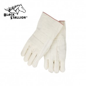 Revco 24 Oz. Cotton Hot Mill Industrial Gloves, Black Stallion
