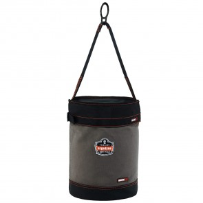 Ergodyne Arsenal® 5960T Canvas Hoist Bucket with D-Rings and Top
