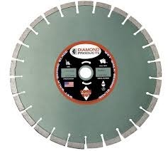 """Diamond Products 14"""" x .125 A2Z Vacuum Bonded High-Speed Specialty Blade"""