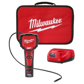 Milwaukee M12 Cordless Lithium-Ion M-Spector 360 Rotating Digital Inspection Camera with 3 ft. Cable