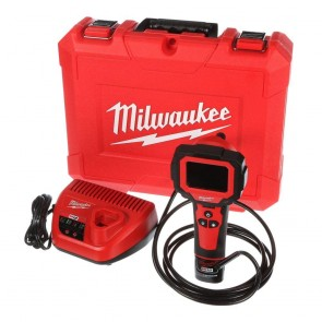 Milwaukee M12 Cordless Lithium-Ion M-Spector 360 Rotating Digital Inspection Camera with 9 ft. Cable