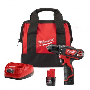 Milwaukee M12 Cordless Lithium-Ion 3/8 in. Drill/Driver Kit
