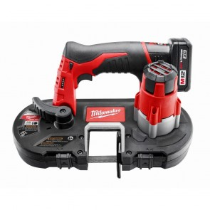 Milwaukee M12 Cordless Lithium-Ion Sub-Compact Band Saw Kit with XC Battery