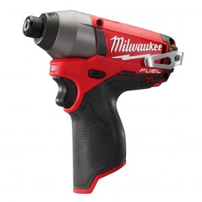 Milwaukee M12 FUEL Cordless Lithium-Ion 1/4 in. Hex Impact Driver (Bare Tool)