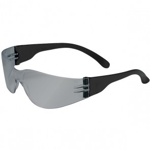 PIP Zenon Z12™ Rimless Safety Glasses with Black Temple, Silver Mirror Lens and Anti-Scratch Coating
