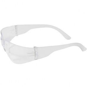 PIP Zenon Z12™ Rimless Safety Glasses with Clear Temple, Clear Lens and Anti-Scratch Coating