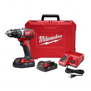 Milwaukee M18 Cordless Lithium-Ion 1/2 in. Drill Driver Kit