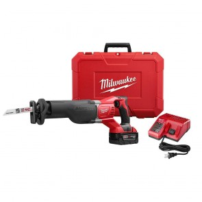 Milwaukee M18 SAWZALL Cordless Lithium-Ion Reciprocating Saw Kit