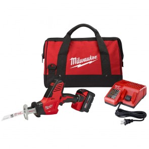 Milwaukee M18 Cordless Lithium-Ion Hackzall Reciprocating Saw with High Capacity Lithium-Ion Battery