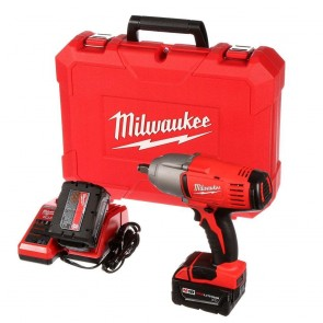 M18 Lithium-Ion Cordless 1/2 in. Impact Wrench W/ Friction Ring Kit