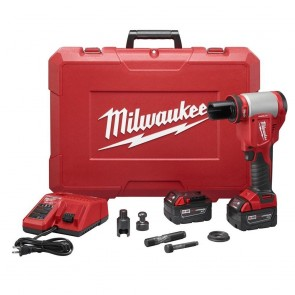 Milwaukee M18 FORCE LOGIC Cordless Lithium-Ion High Capacity Knockout Kit