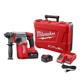 Milwaukee M18 FUEL Cordless Lithium-Ion 1 in. SDS Plus Rotary Hammer Kit