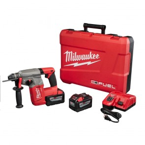 Milwaukee M18 FUEL 9.0 Ah Cordless Lithium-Ion 1 in. SDS Plus Rotary Hammer Kit
