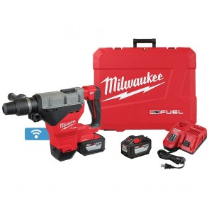 "Milwaukee M18 FUEL 1-3/4"" SDS MAX Rotary Hammer Kit w/ (2) 12.0 Battery"