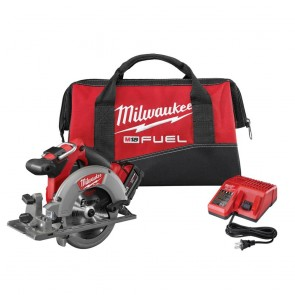 Milwaukee M18 FUEL Cordless 6-1/2 in. Circular Saw with REDLITHIUM Battery