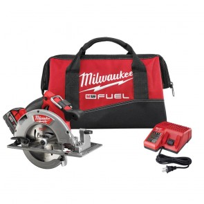 Milwaukee M18 FUEL Cordless Lithium-Ion 7-1/4 in. Circular Saw Kit
