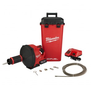 "Milwaukee M18 18V Lithium-Ion Drain Snake Auger Cable 1/4"" &3/8"" (Kit)"