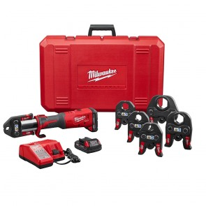 "Milwaukee M18™ FORCE LOGIC™ Press Tool Kit with ½"" – 2"" Jaws"