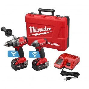 Milwaukee M18 FUEL 5.0 Ah Cordless Lithium-Ion 2-Tool ONE-KEY Combo Kit