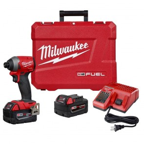 Milwaukee M18 FUEL 1/4 in. Hex Impact Driver XC Kit