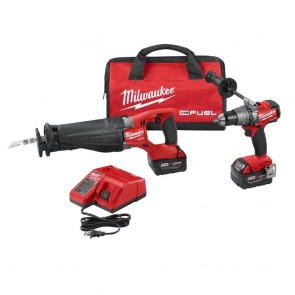 Milwaukee M18 FUEL Cordless Lithium-Ion 2-Tool Combo Kit