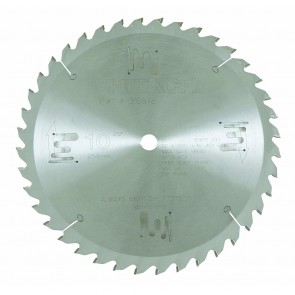 "Hitachi 10"" x 40 Tooth Carbide Saw Blade"