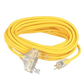 Southwire 12/3 50' Polar/Solar Tri-Source Power Block Extension Cord