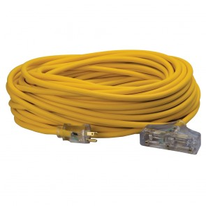 Southwire 12/3 100' Polar/Solar Tri-Source Power Block Extension Cord