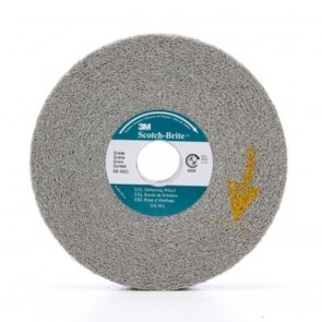 3M Scotch-Brite™ EXL Deburring Wheel, 6 in x 1 in x 1 in 8A MED