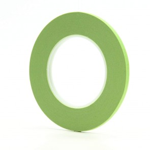 3M Scotch® Masking Tape - 55 m Long, 48 mm Wide, 6.7 mil Thick, Green