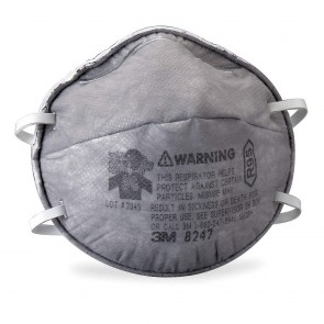 3M™ Particulate Respirator, R95, with Nuisance Level Organic Vapor Relief