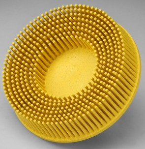 "3M Scotch-Brite® Roloc™ Bristle Disc, 3"" Diameter, 80 Grit"