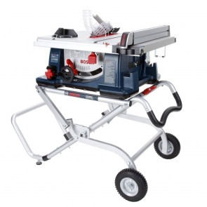 Bosch 10 In. Worksite Table Saw with Gravity-Rise™ Wheeled Stand
