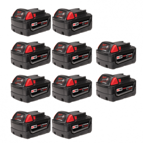 Milwaukee M18 5.0Ah Battery 10-Pack