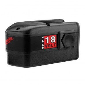 Milwaukee 18V 2.4 Ah Ni-Cd Battery
