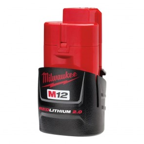 Milwaukee M12 REDLITHIUM 2.0 Compact Battery Pack