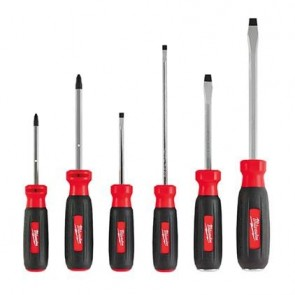 Milwaukee 6-Piece Screwdriver Set