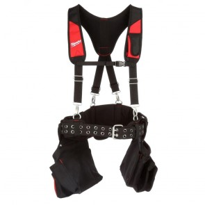Milwaukee Contractor Work Belt with Suspension Rig